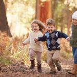 Kinder Gruppe Herbst Frohnleiten