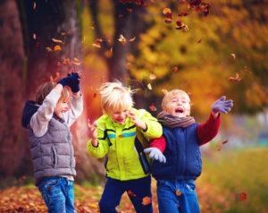 Spielgruppe ohne Eltern Herbst Frohnleiten Graz Umgebung
