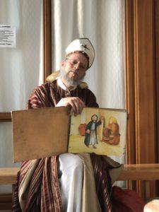 Nikolaus im Storchennest