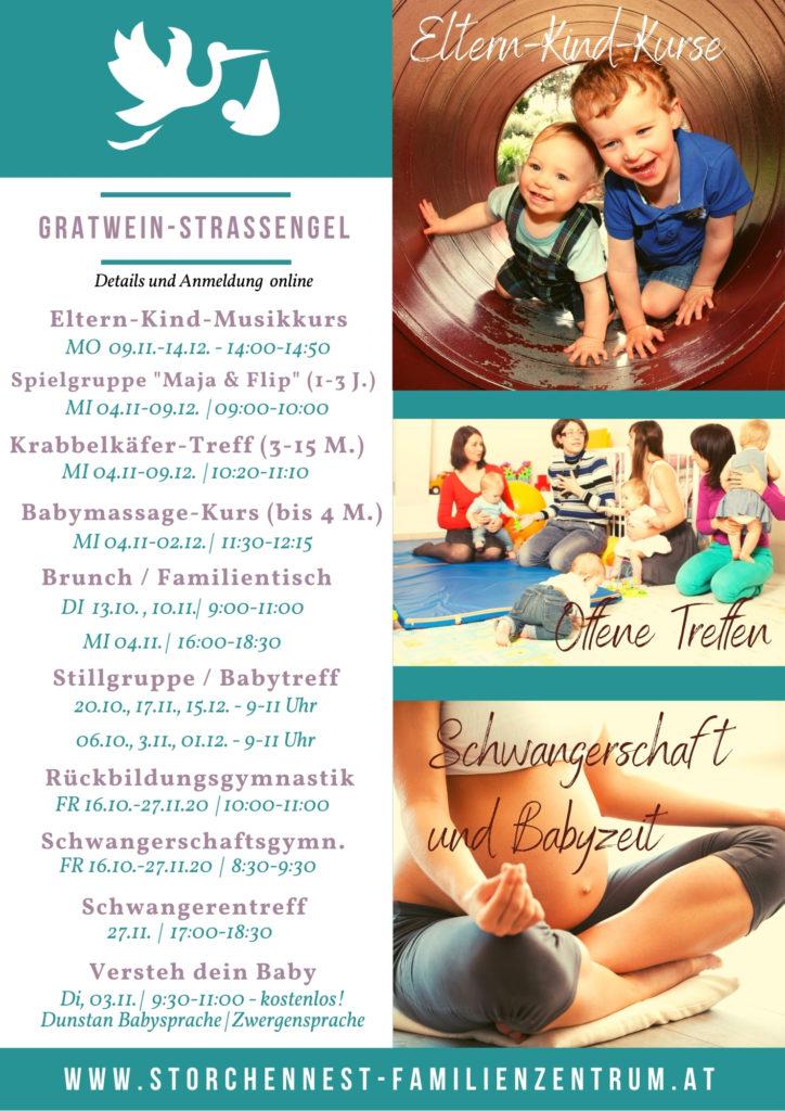 Herbstprogramm Familienzentrum Gratwein-Straßengel
